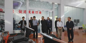 陕西省老区建设促进会副会长张录德到延安职业技术学院调研