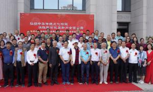 陕西省文化传播协会迎国庆书画作品展在西安外事学院隆重开幕