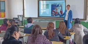 延安职业技术学院附属小学到延川县永坪红军小学开展送教下乡活动
