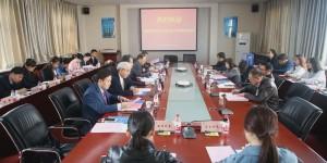 省政府教育督导委员会专项督导检查组到陕西国际商贸学院检查指导