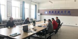 广东环境科技有限公司来访西安航空学院洽谈校企合作