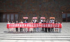 陕西能源职业技术学院校团委开展纪念五四运动主题团日活动