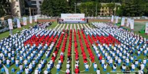 陕能院百名志愿者参加2021年陕西省红十字应急救护综合演练