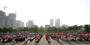 西安石油大学举行2021年教职工运动会