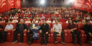生动的党史教育电影课 《柳青》全国高校首场观影在西安美院举行