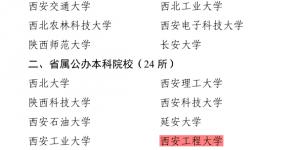 """西安工程大学获评2020年度""""双百工程""""先进单位"""