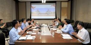 中国兵器工业集团董事、党组副书记周舰莅临西安工业大学走访调研