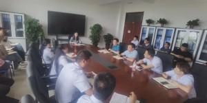 西安交通工程学院招生办召开专升本工作会议