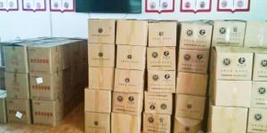 以购代捐、以买代帮  陕西机电职院购买扶贫农副产品助推消费扶贫