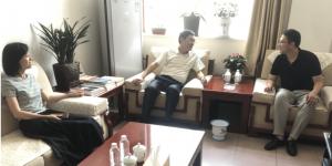 陕西能源职业技术学院团委书记冯超带队赴铜川矿业交流走访