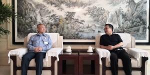 西安石油大学李华副校长带队走访中国石油长庆石化公司