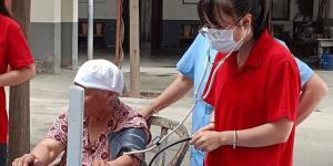 陕能院奉献青春、传递关爱实践队再次到福寿居养老院开展社会实践