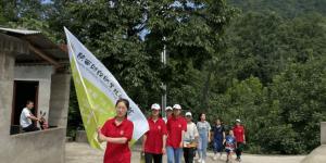 陕财职院志愿者赴柞水县杏坪区域敬老院进行爱老敬老活动