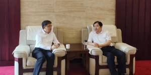 西安石油大学校长李天太会见交通银行陕西省分行行长陈海春