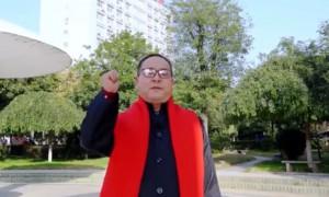 """渭南师范学院学生眼中的""""书记小喇叭"""""""