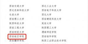 """西安航空学院获批""""全省首批新时代高校团建工作示范院校""""称号"""