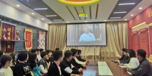 陕西财经职业技术学院组织学生收看《同上一堂奥运思政大课》