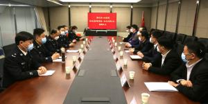 警民同心战疫情 陕西省闽商商会向西安交警爱心捐赠
