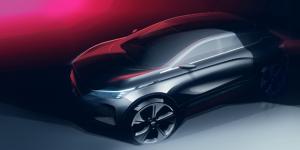 量产概念车上瘾 可喂养的纯电新宠几何C首批渲染图曝光