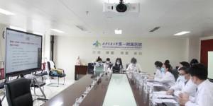 西安交大一附院主办新冠肺炎疫情防控知识网络亚非华人科普讲座
