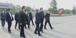 陕西省教育厅副厅长朱晓渭一行调研指导西安汽车职业大学开学工作