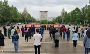 渭南师范学院组织开展开学前第二次疫情防控演练