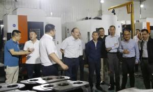 西石大党委书记赛云秀一行赴西安汽车零部件产业园开展校企合作