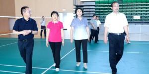 陕西省委统战部副部长白慧芳一行到访咸阳职业技术学院调研