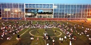 西安培华学院首届草坪艺术节圆满举办