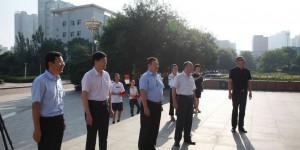 渭南师范学院举行欢送2020年西部计划志愿者赴岗活动