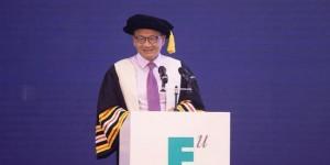 坚守信念之光  西安欧亚学院董事长胡建波教授2020年毕业致辞