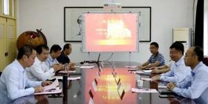 中石油工程建设公司北京设计分公司李明一行来访西安石油大学交流