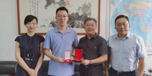 西北大学毕业生齐宏斌:把走上社会获得的第一枚奖章赠予母校
