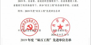 """西安欧亚学院连续三年荣获陕西省 """"双百工程""""先进单位"""