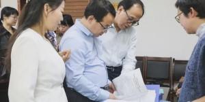 陕西省委教育工委验收延安职院心理健康教育示范中心建设项目