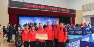 陕能院参加省教科文卫体系统职工乒乓球团体赛荣获三等奖