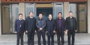 延安市宝塔区柳林镇领导一行到西安海棠职业学院开展扶贫工作交流