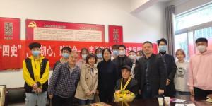 西安工程大学邀请抗美援朝老兵走进红色文化学习班授课