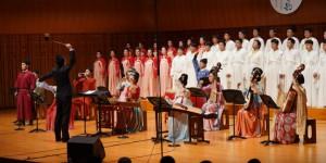 西安外事学院古琴系师生音乐会在西安音乐厅举办