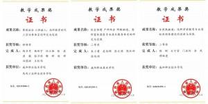 咸阳职业技术学院3项成果荣获2019年陕西省高等教育教学成果奖
