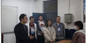 陕西能源职业技术学院团委带领团干部检查新学期团课开展情况