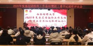 西安财经大学召开2020年度基层团组织工作总结评议会