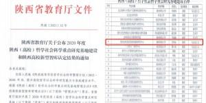陕西科技大学获批陕西 (高校)哲学社会科学重点研究基地