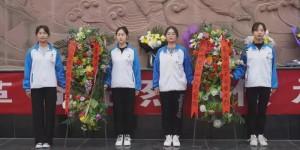 陕西机电职业技术学院开展清明节祭扫活动