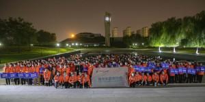 西安欧亚学院350名志愿者助力2021西安国际马拉松